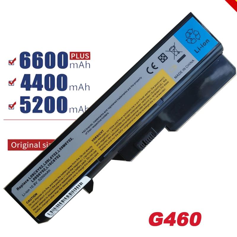 HSW 6Cell 11,1 V batería para portátil Lenovo G460 G560 G465 E47G L09L6Y02 L09S6Y02 L10P6F21 LO9S6Y02 b570e V360A Z370 envío rápido