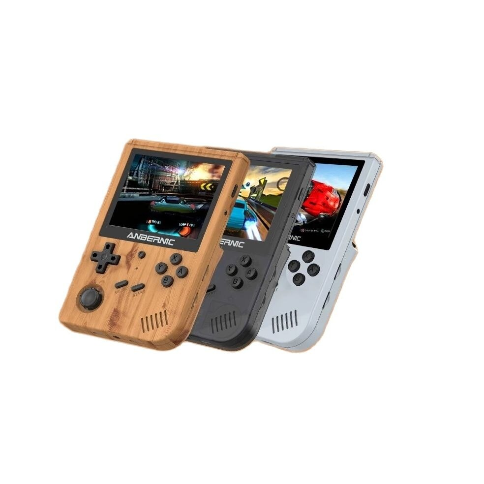 ANBERNIC New RG351V Retro Games Built-in WIFI TF card16G RK3326 Open Source Handheld Game Console Emulator For PS1 kid Gift 256G