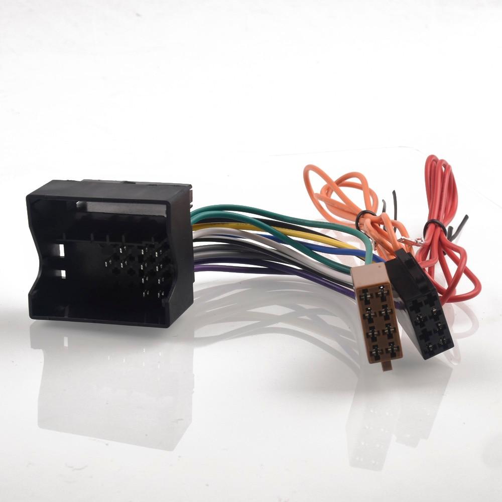 Автомобильный радиоприемник адаптер iso кабель переключателя гибкий кабель для Защитные чехлы для сидений, сшитые специально для Opel Astra H Corsa C Антара Combo Meriva Zafira для Vauxhall AGILA Movano