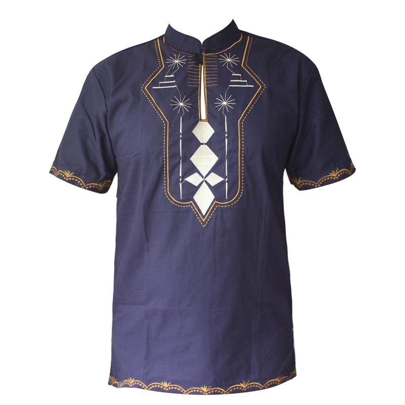Pakistan broderie saree vêtements caftan court hommes Dashiki mariage africain tunique tenue