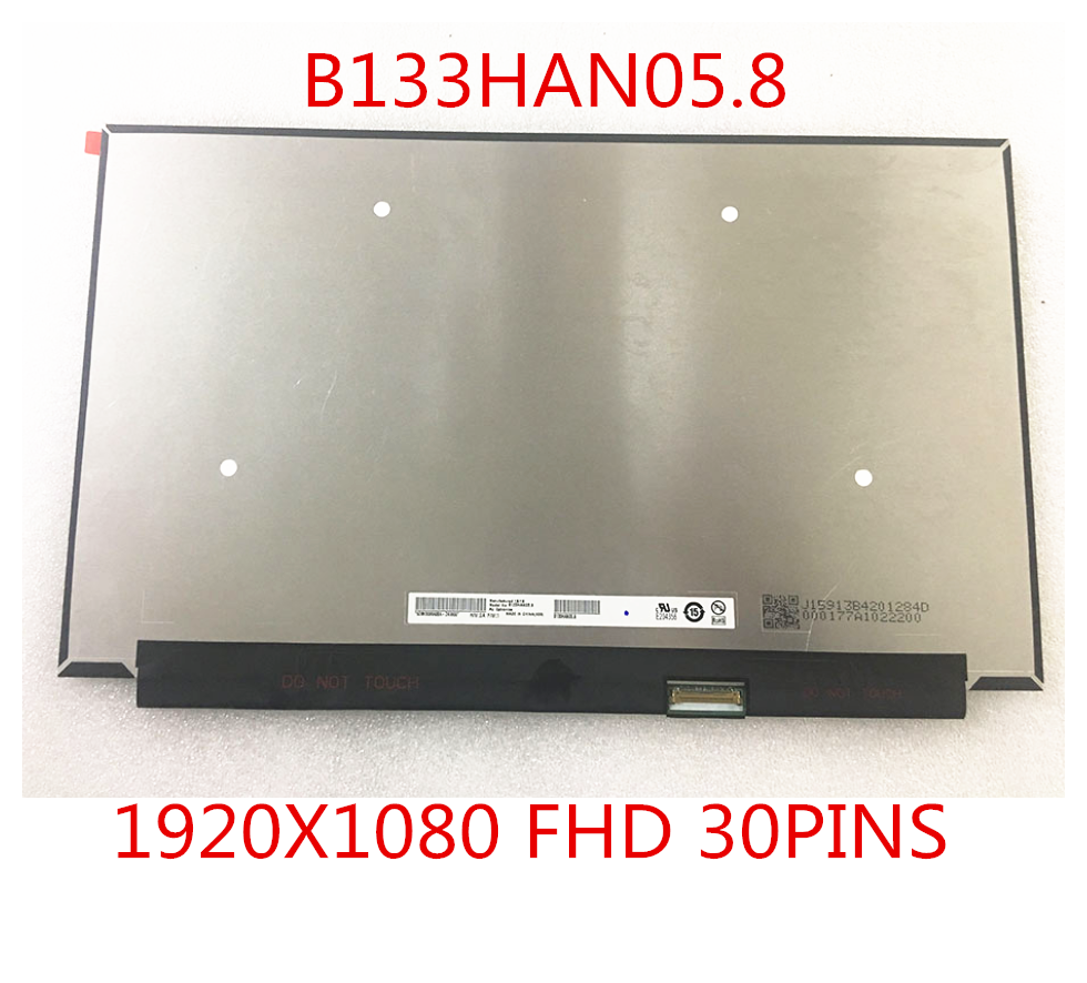 B133HAN05.8 IPS eDP 30 pin 1920X1080 Laptop LED SCREEN Panel B133HAN05 matrix free shipping