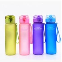 400ml 560ml School Leak Proof Direct Drinking Sports Water Gift Bottle High Quality Tour  Hiking Portable Bottles Drinkware