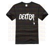 -Butcher Shop T-shirt Tshirt mężczyźni gry planszowe Dexter Serial Killer program telewizyjny prezent zbrodnia tajemnica t-shirty moda DEXTER Morgan Art