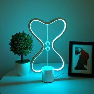 New Product Table Lamp Magnetic Balance Lamp Smart Bedroom Bedside Lamp Desk Bar Atmosphere Lamp Bedside Lamp