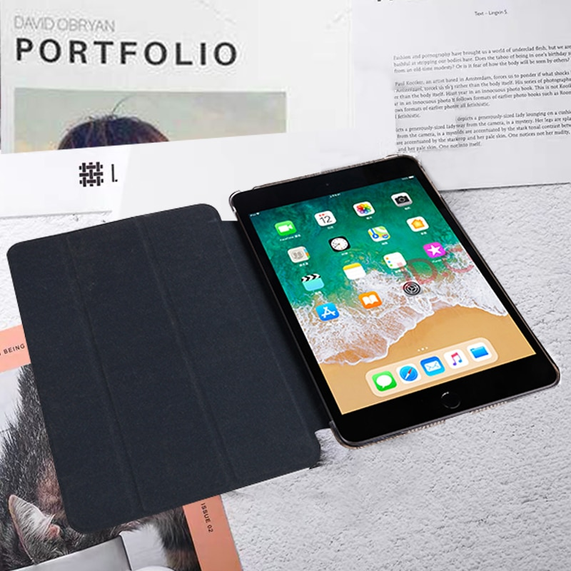 Pouch Apple 7-10.2 Tablet iPad Tri-Fold Ebook-Case A2232-Sleeve 7th-Generation-Case