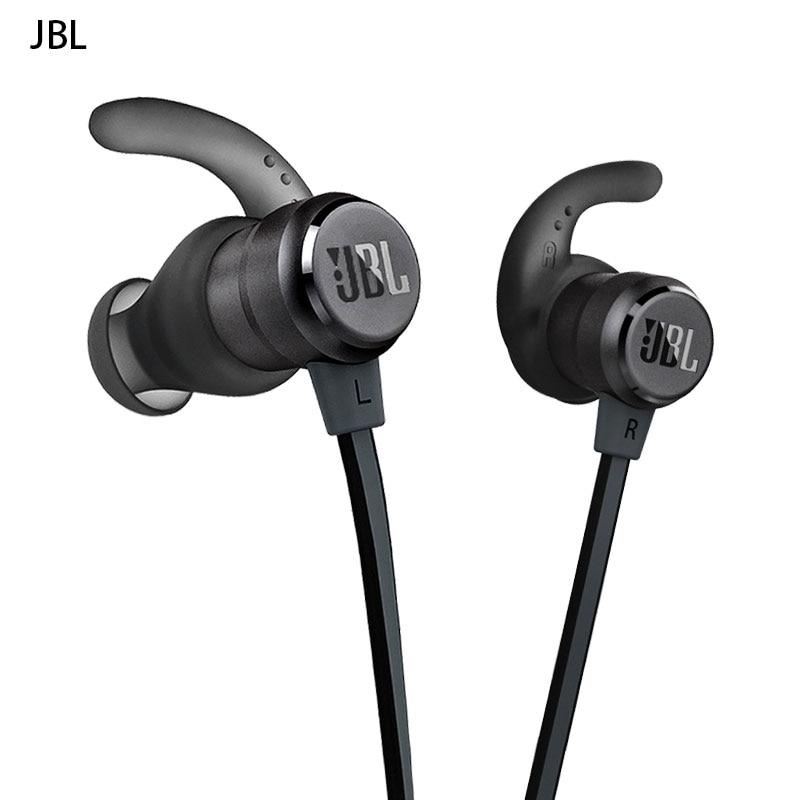 Jbl-auriculares T280BT Bluetooth internos, Auriculares deportivos inalámbricos originales, tapones magnéticos de succión para los oídos, para correr, Fitness, resistentes al agua, auriculares metálicos