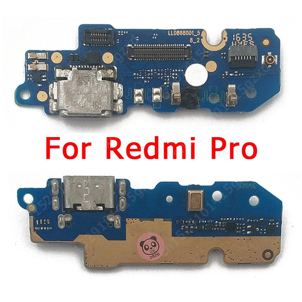 Original Charge Board for Xiaomi Redmi Pro Charging Port USB Plug PCB Dock Connector Flex Cable Repl