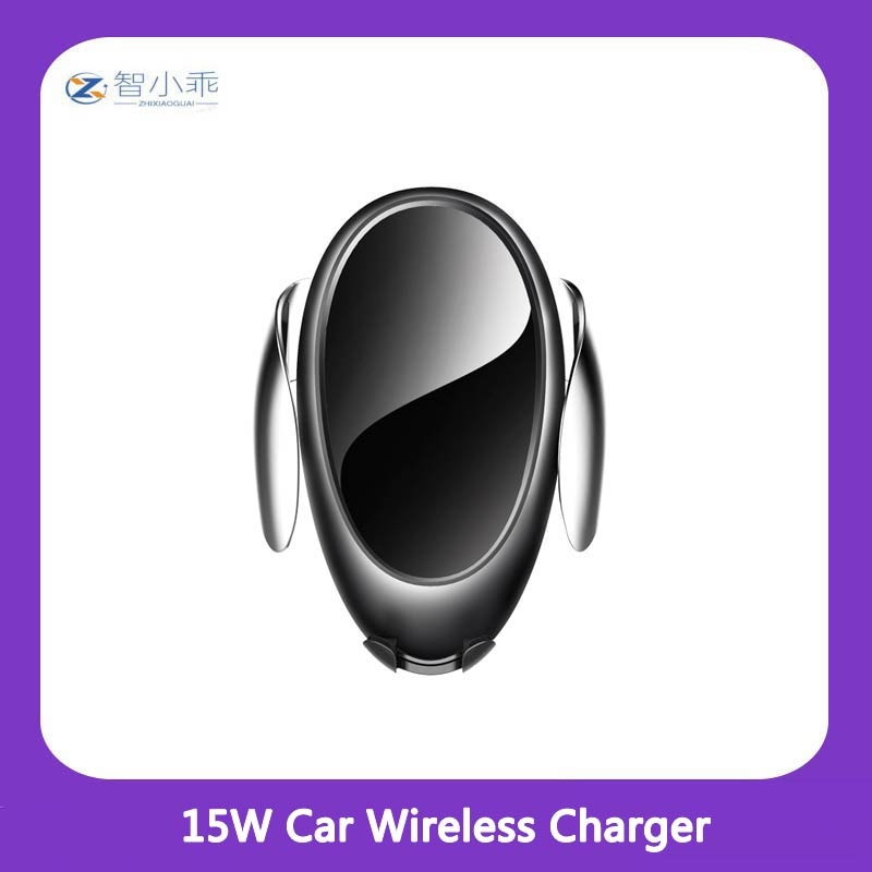 Car Wireless Charger Full Automatic Induction Suitable For Fast Charging Stand Iphone Android Phone