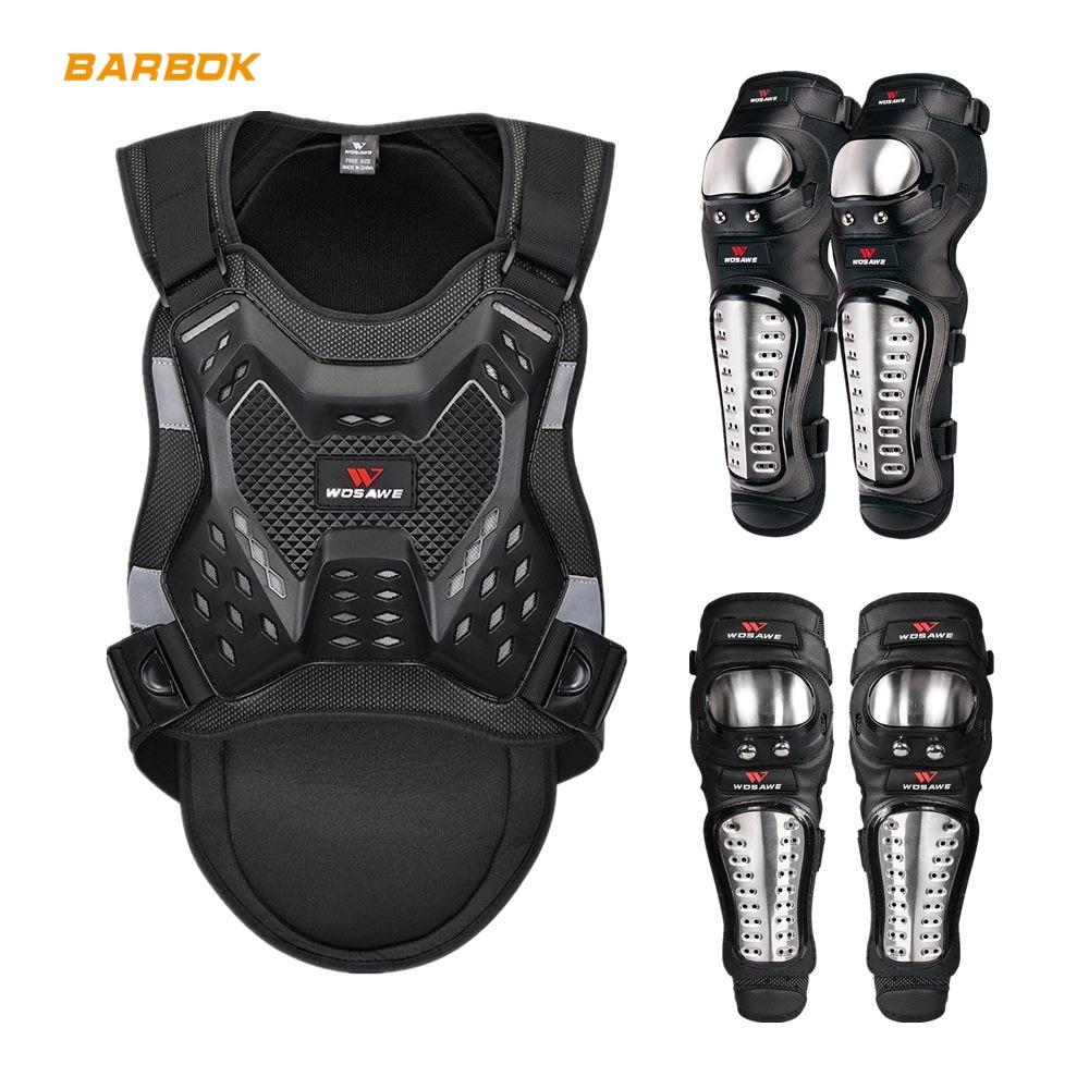 WOSAWE-سترة واقية للدراجات النارية ، للبالغين ، بدلة حماية ظهر موتوكروس ، معدات واقية ، ضمادة دعم الجسم