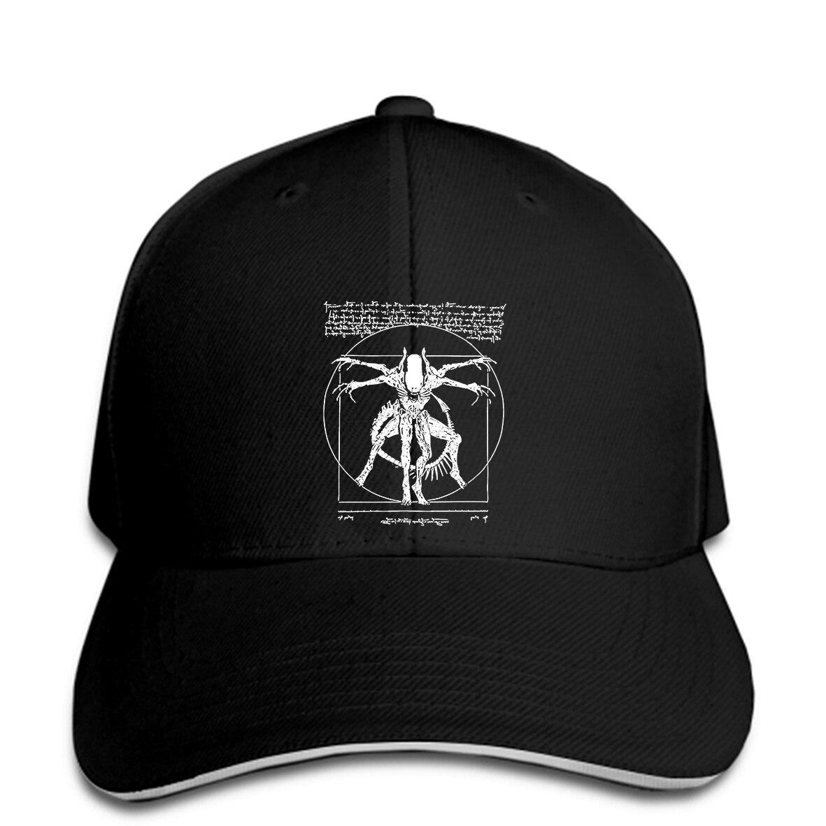 Gorra de béisbol de verano Slim cosas fornagers - Da Vinci alienígena-Gamer regalos para hombres sombrero del Snapback alcanzó su punto máximo