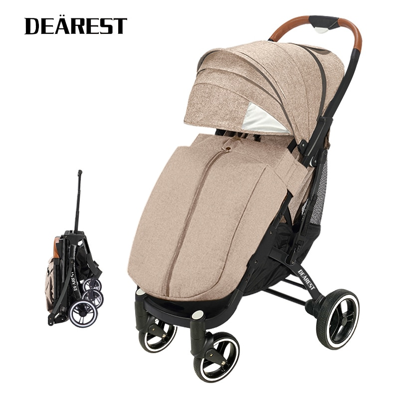 Dearest Pro With Zipper Footcover new one-click folding lightweight and portable waterproof fabric