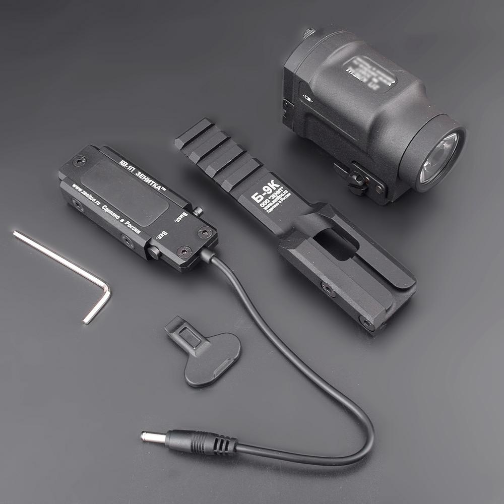 Новое поступление AK SD Белый светодиодный GEN 2 тактический фонарь вспышка