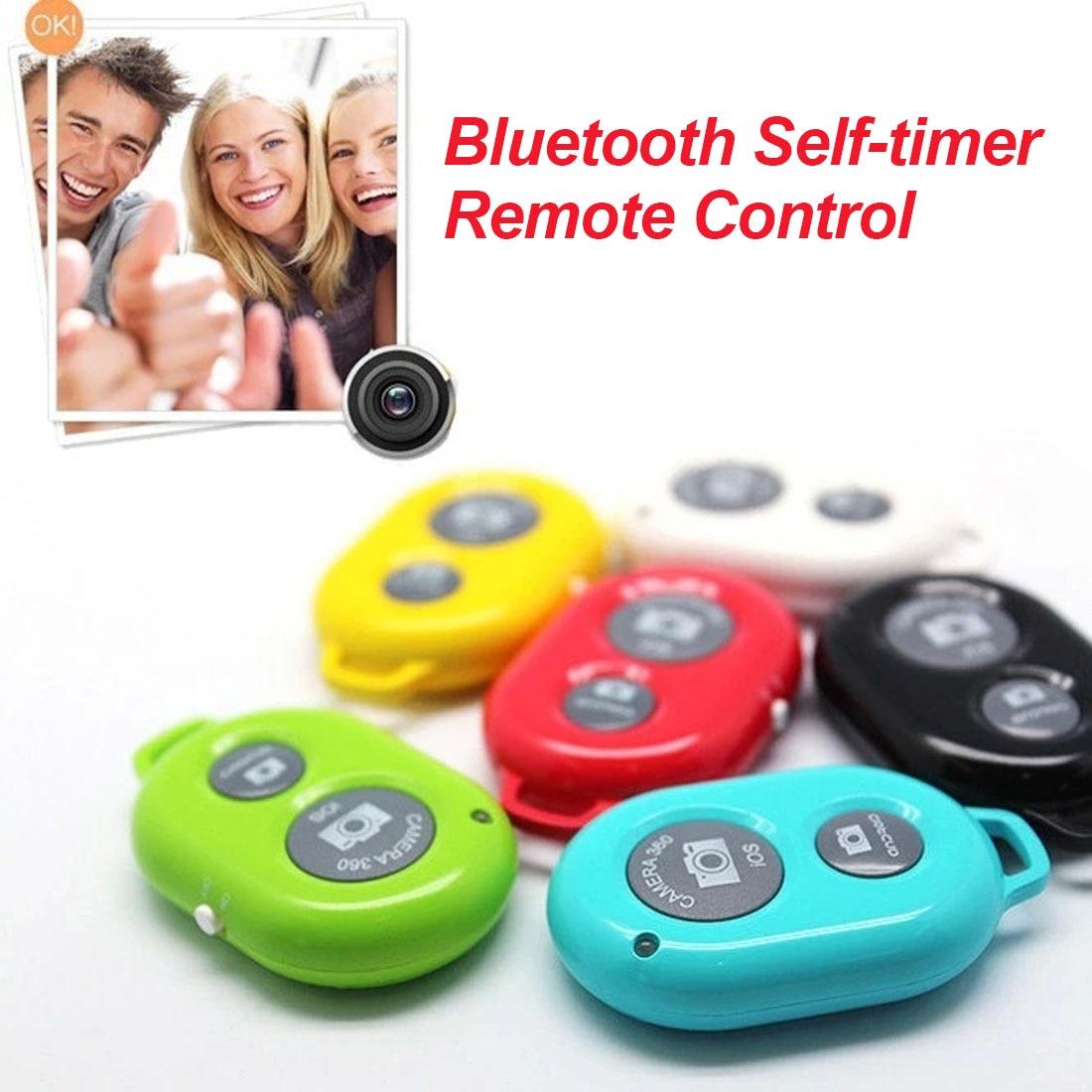 Obturador de cámara remoto Bluetooth inalámbrico centechia obturador de autofoto temporizador automático para iPhone para Samsung Android