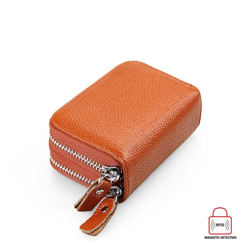 35Women Short Wallets Card Holder 2019 Ladies New Fashion Leather Money Bag Ladies Solid Color Doubl
