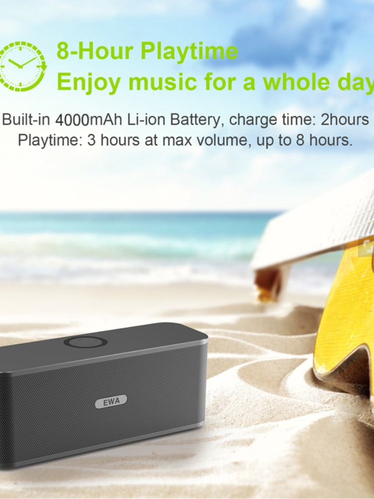 Bluetooth Speakers 2*6W Drivers Loud Stereo Sound 4000mAh Battery Wireless Portable Speaker For Travel Outdoor Party enlarge