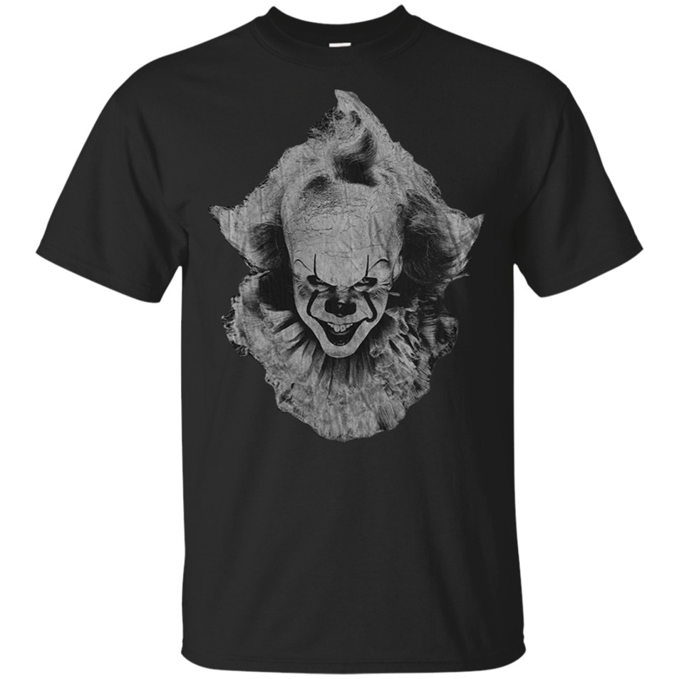 Pennywise es Halloween Horror camiseta negro-Azul marino hombres-mujeres-Juventud camiseta femenina masculina camisa