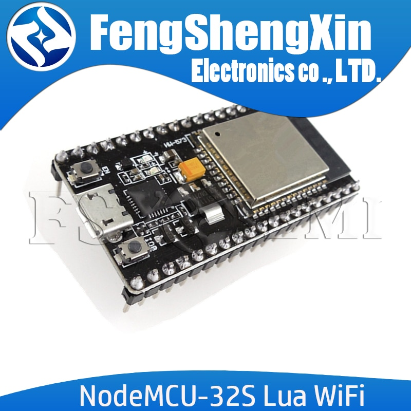 NodeMCU-32S Lua WiFi IOT carte de développement ESP32S ESP32-WROOM-32 double cœur sans fil WIFI BLE Module ai-penseur