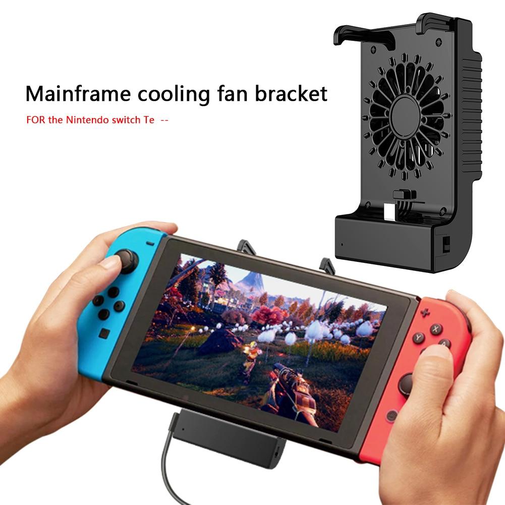 Anfitrião ventilador de refrigeração suporte apto base de carregamento suporte para nintendo switch lite clássico cores jogo eletrônico componente