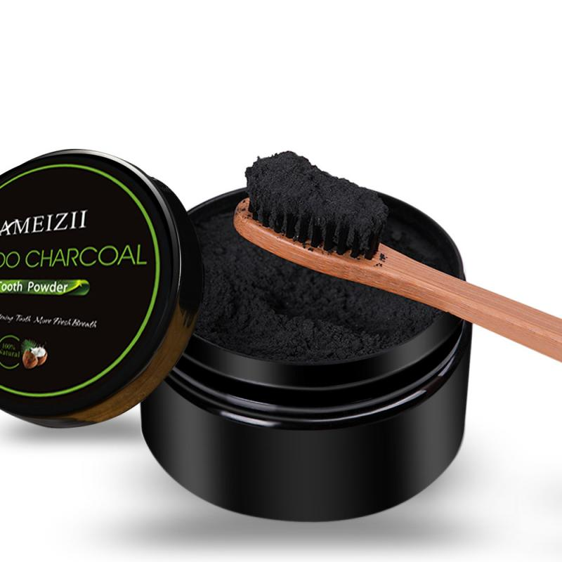 ¡Nuevo! 30g de carbón de coco para blanquear los dientes, polvo de carbón vegetal activado Natural, polvo blanqueador de dientes, cuidado bucal, Clareador Dental
