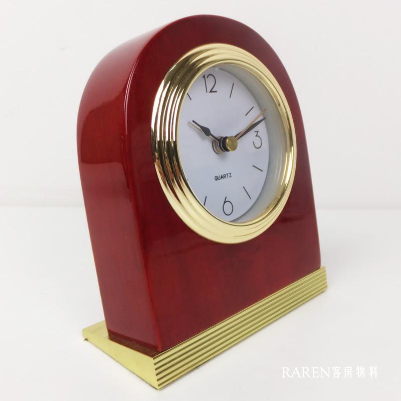 Luxury Vintage Alarm Clock Wood Minimalist Antique Alarm Clock Digital Retro Sunrise Radio for Home Travel Smart Table CC50NZ