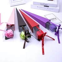 1pc flower gift holder party paper cones bouquet flower baskets gifting boxes decor gifts creative packing bags