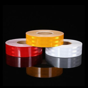 6 Colors Reflective Tape Car Safety Mark Reflector Warning Tape