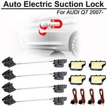CARBAR Smart Auto Electric Suction Door Lock for Audi Q7 2007- Automatic Soft Close Door Super Silence Car Vehicle Door