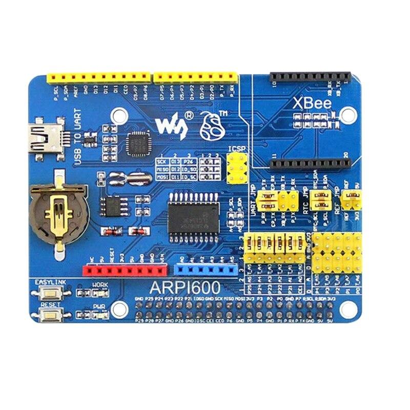 Waveship para Raspberry Pi 4 Modelo B el Kit de Sensor incluye la placa adaptadora PI4 B-4GB ARPI600 13X sensores populares (enchufe estadounidense)