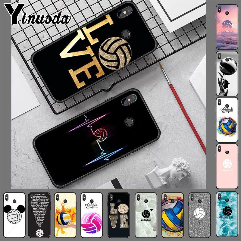 Carcasa de teléfono con dibujo de impresión DIY de voleibol para redmi note 8 pro, note 7, note 5, note 6pro, 7, 7A, 5, 5A, 8, S2, carcasa