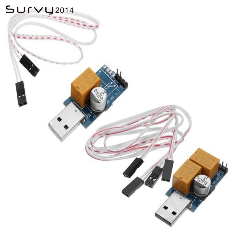 Tarjeta Watchdog USB 5V sin supervisión reinicio automático temporizador de pantalla azul reinicio para minería de servidores 24H Juegos de PC electrónica diy