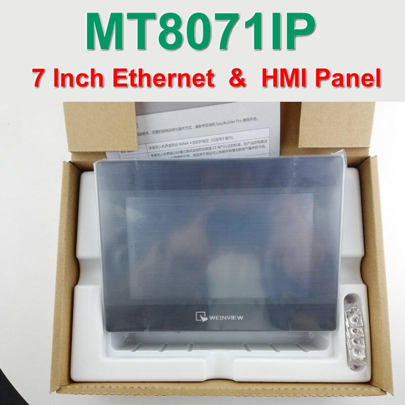 """MT8071iP 7 """"HMI MT-8071iP 7 дюймов 800*480 Сенсорная панель Ethernet 1 USB хост Weintek Замена MT8070iP MT8070iH5 Новый в коробке, есть в наличии"""