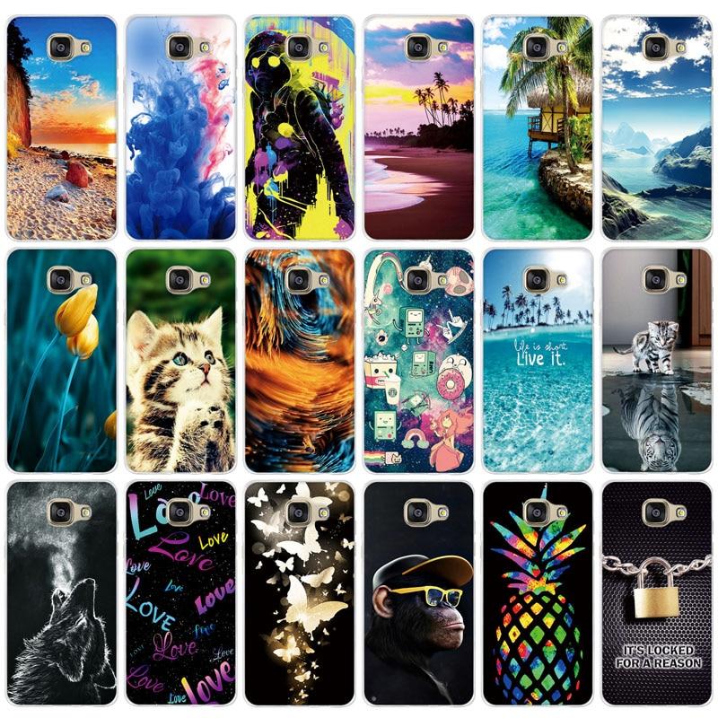 Soft TPU Case For Huawei Y5 II 2 Y5II ii / Y6 2 Compact Cover Bags For Huawei honor 5A LYO-L21 Y5 2 Y5 II CUN-U29 Print Shell