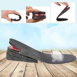 1 par de 3 camadas de altura ajustável aumento palmilha salto elevador ganho altitude sapato pads xin-shipping