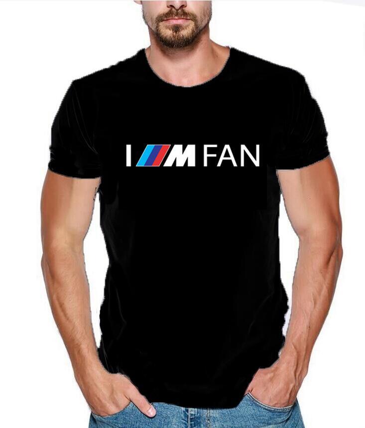 Camiseta de verano para hombre 2020 moda soy FAN M Power Logo divertido 100% de algodón impresión personalizada para Mercedes F1 para Subaru camiseta H