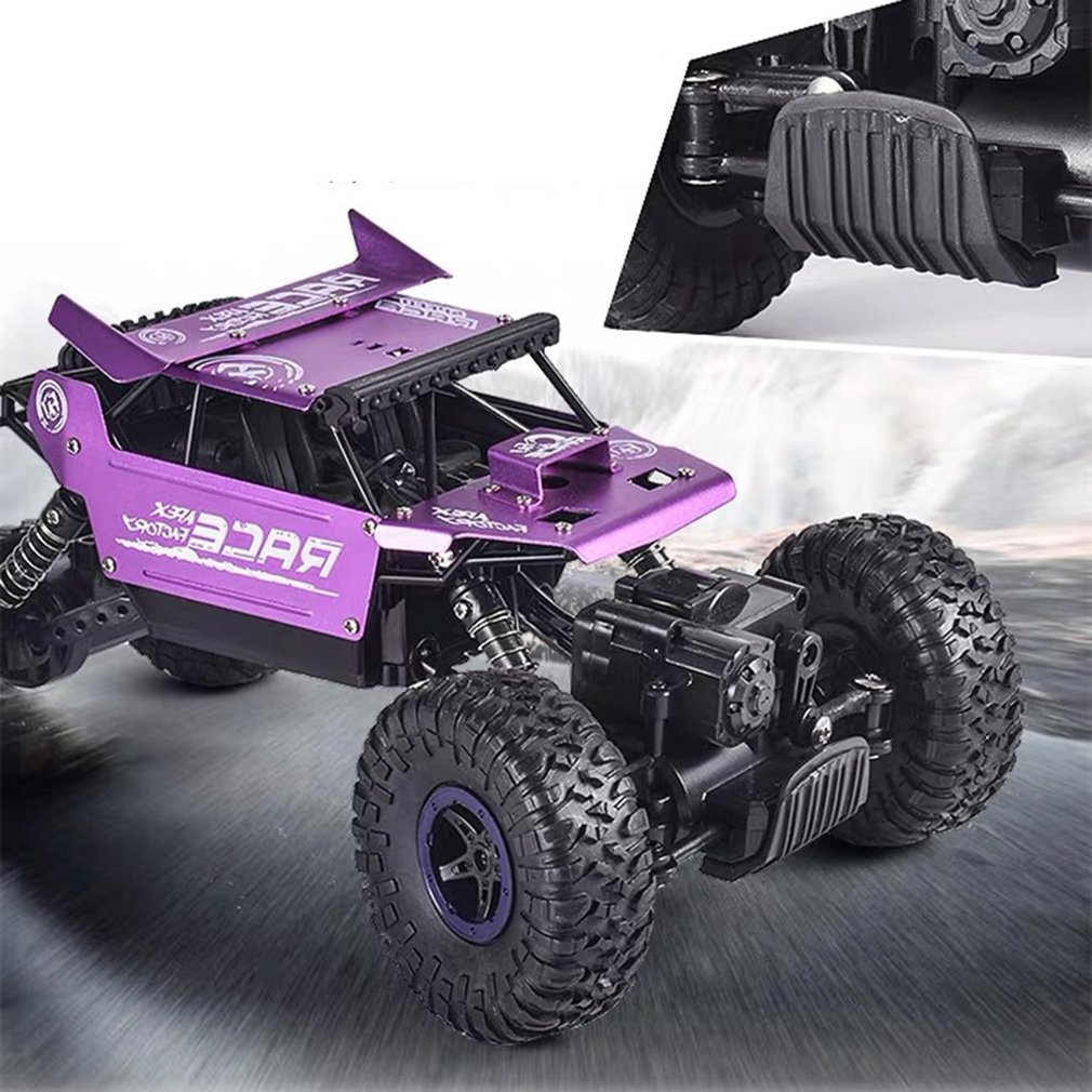 1:18 2.4G Rock Crawler Car Remote Control Toy Car Machine For Children Outdoor Toy Model Off-Road Vehicle Toys Christmas Gifts enlarge