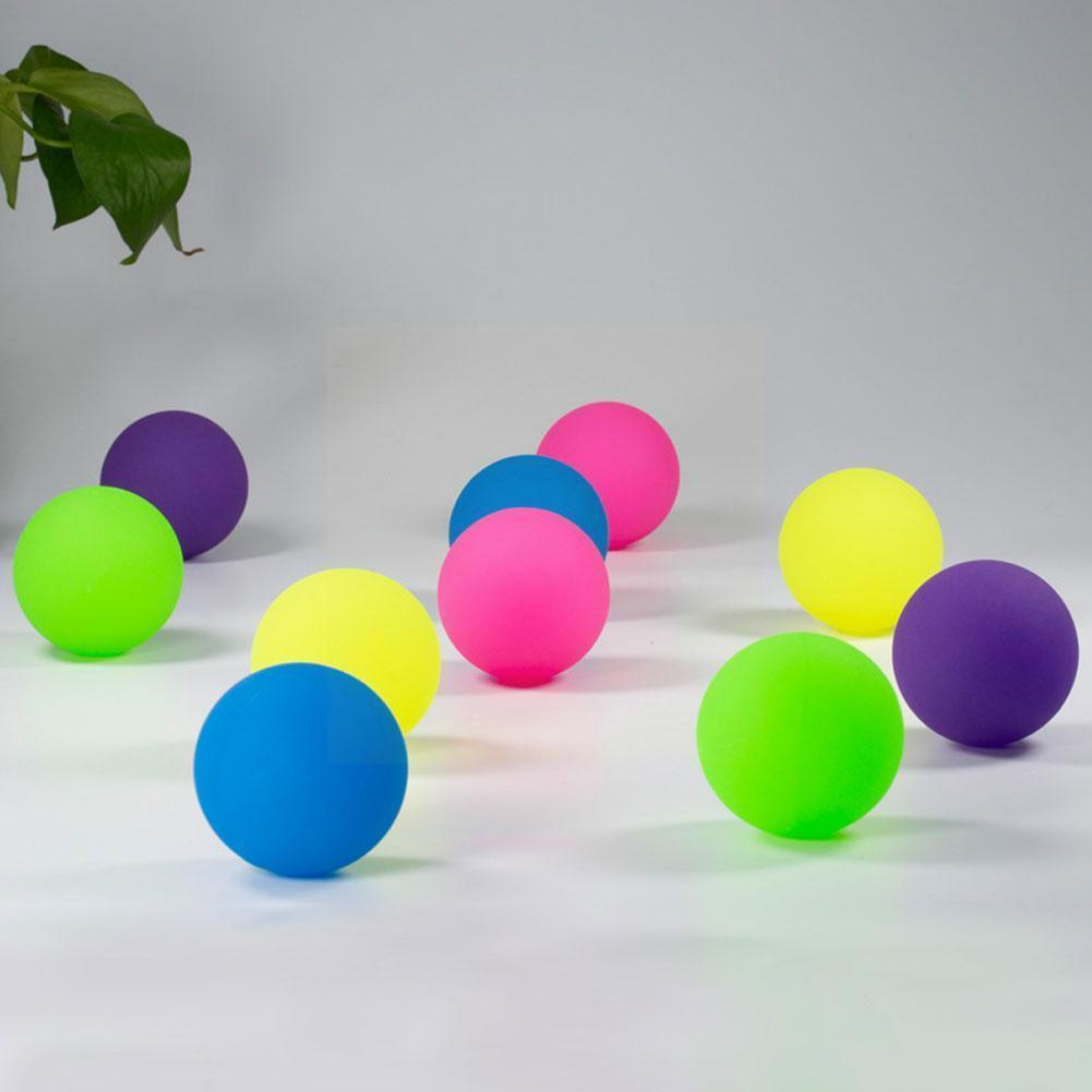 1pcs Funny Toy Balls Bouncy Ball Floating Bouncing Outdoor Of Bath Bouncy Elastic Child Jumping Rubber Toys Toy Ball Balls M8U9 недорого