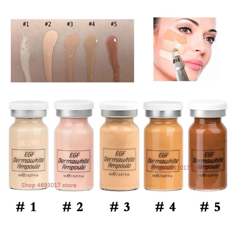 Stayve BB crema brillo suero acné Anti-envejecimiento cosméticos coreanos base de maquillaje líquido Mesowhite BB microagujas suero Kit de iniciación