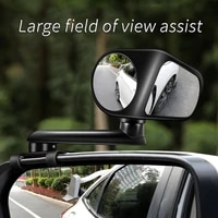 2021 new car rear view auxiliary blind spot mirror 360%c2%b0 rotatable 2 wide angle mirrors high definition blind spot mirrors