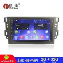 HANGXIAN 2 din Android 9.1 car radio for Chevrolet Lova Captiva Gentra Aveo Epica 2006-2011 car dvd