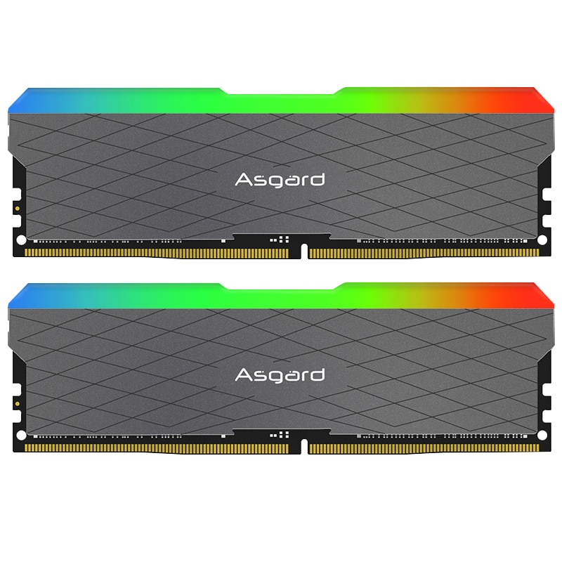Asgard ddr4 ram rgb ram PC w2 series ram 16GB 32GB 3200MHz RGB  DIMM Desktop Memory XMP   16gb 32gb ram  high performance