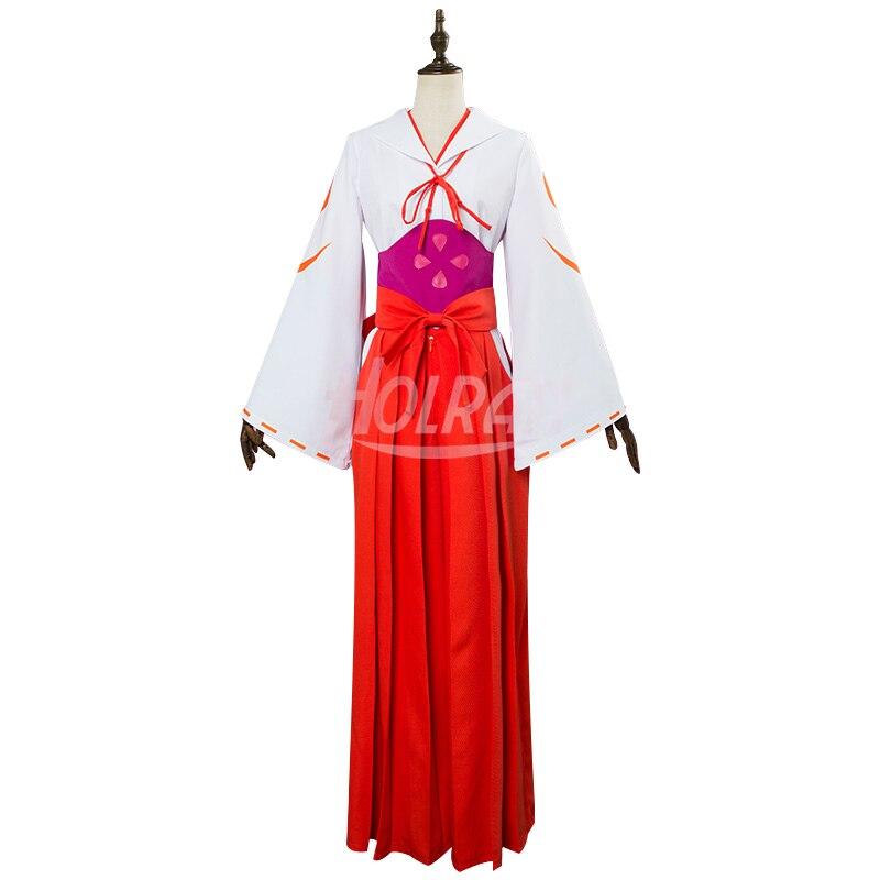 Anime esa vez me reencarné como un Slime Cosplay disfraz Cos shuna Kimono estilo japonés conjuntos de Cosplay
