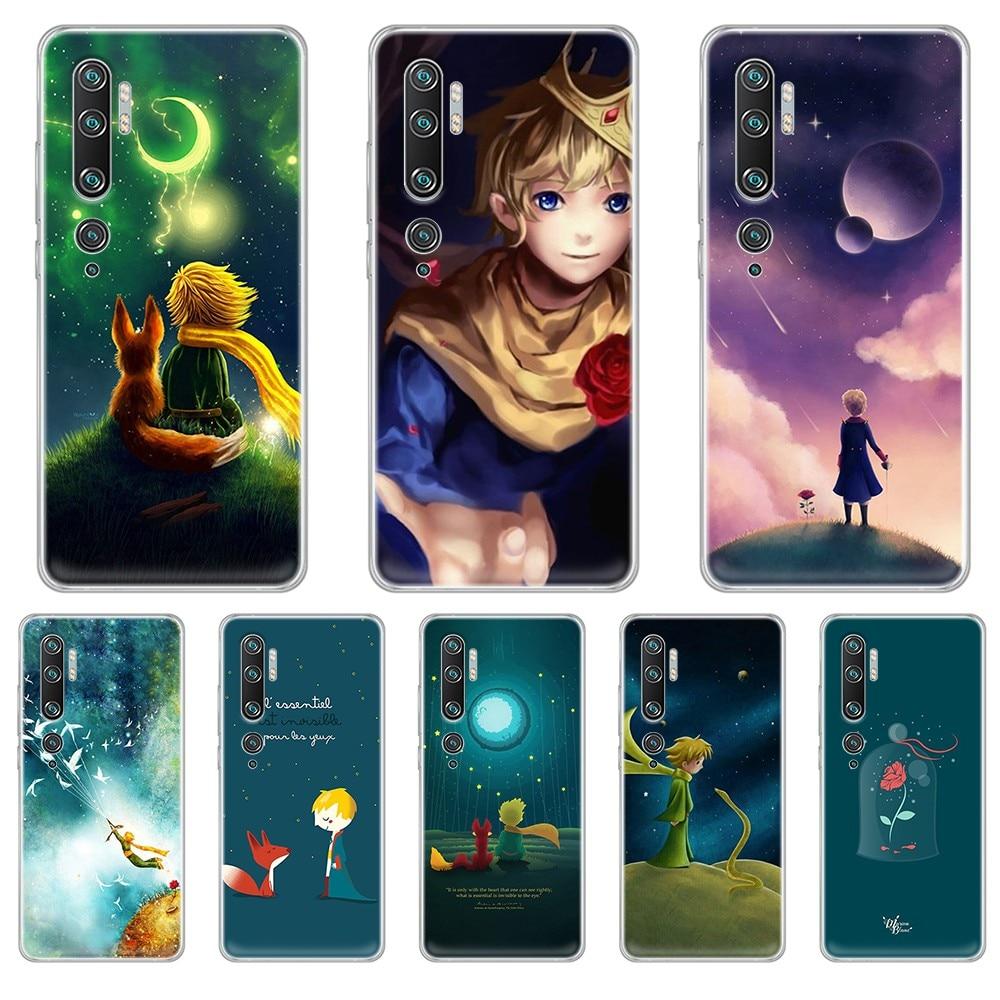 The Little Prince Fiction France pretty funda Transparent Phone Case For XIAOMI mi 3 4 5 5X 8 9 10 se max  pro a2 9T  note lite