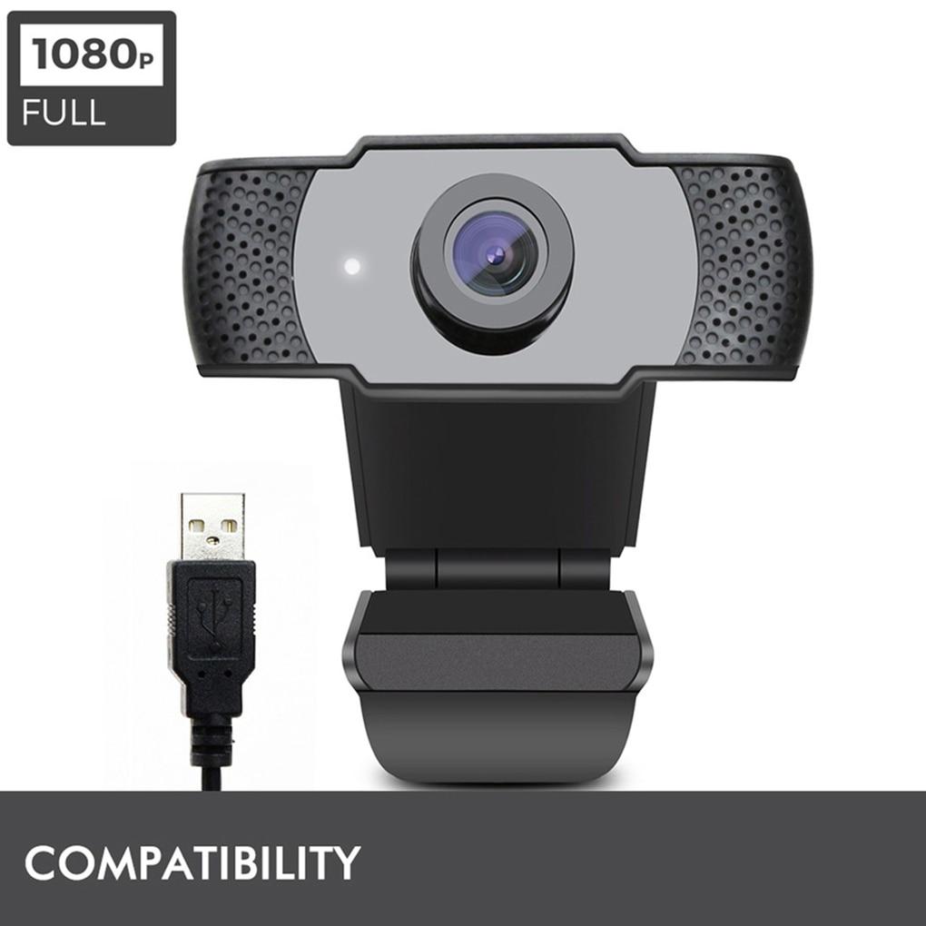 فيديو الدردشة HD كاميرا ويب الكمبيوتر المحمول 1080P القرار بث مباشر الكاميرا مع ميكروفون