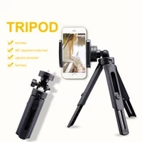smartphone mini tripod with phone clip holder 6 inch for smartphone video tripod handle grip for phone live hot selling