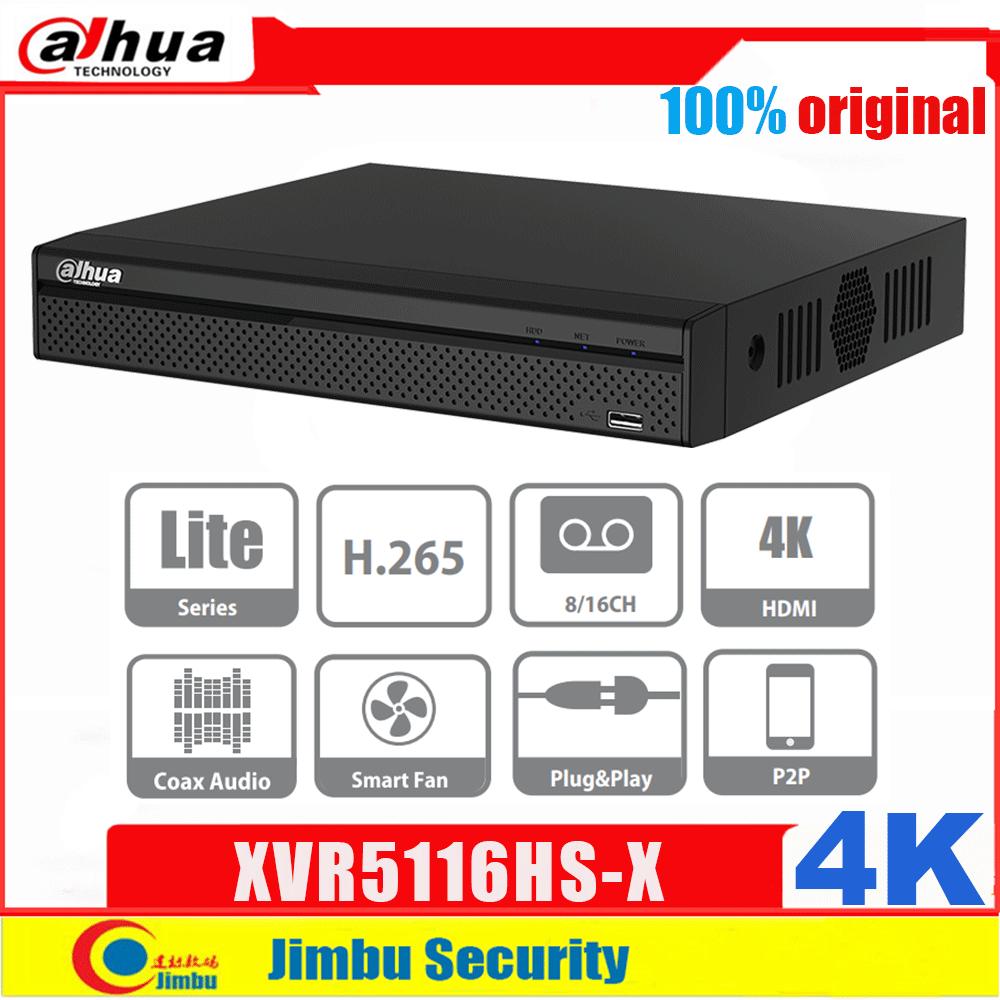 داهوا DVR XVR XVR5116HS-X 16ch لايت سلسلة بنتا Brid 1080P المدمجة 1U مسجل فيديو رقمي البحث الذكي والذكي