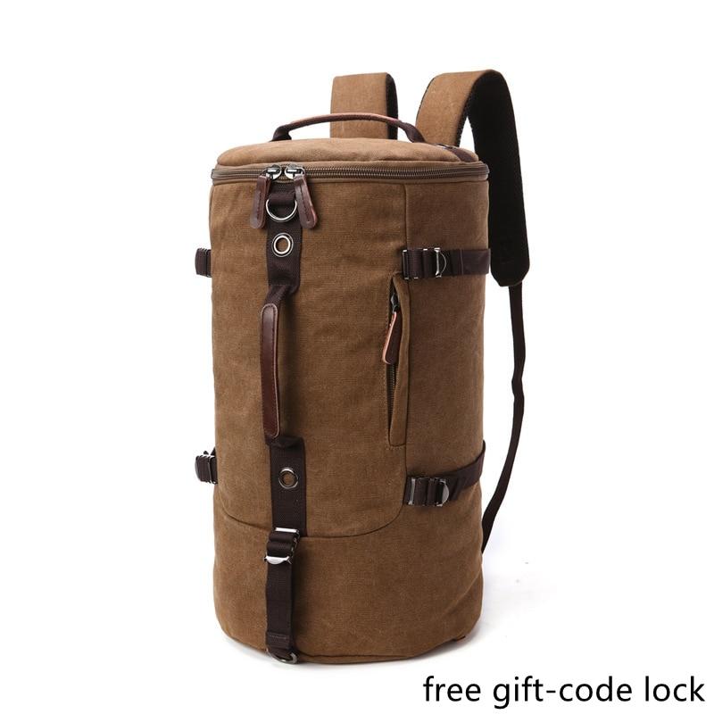 Weysfor Vogue мужской дорожный рюкзак, мужской холщовый багаж, вещевая сумка, рюкзак для альпинизма, мужской вместительный рюкзак