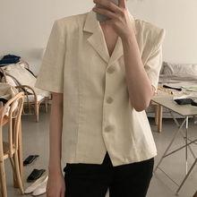 short sleeve coat women summer 02150#