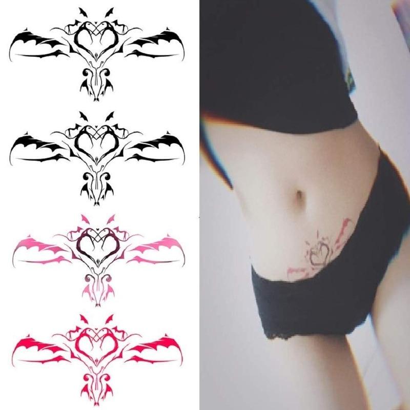 1 шт. новый стикер пупка сексуальный пупок для женщин водонепроницаемый временный стикер модный поддельный боди арт стикер татуировки