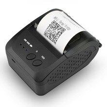 Imprimante de reçu sans fil de Bluetooth dimprimante portative dimprimante de téléphone dimprimante de main de 58mm