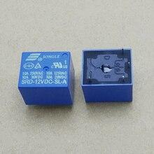 Bobine SPDT 4 broches 10 pièces   Mini relais de puissance et PCB Type de haute qualité DC 12V